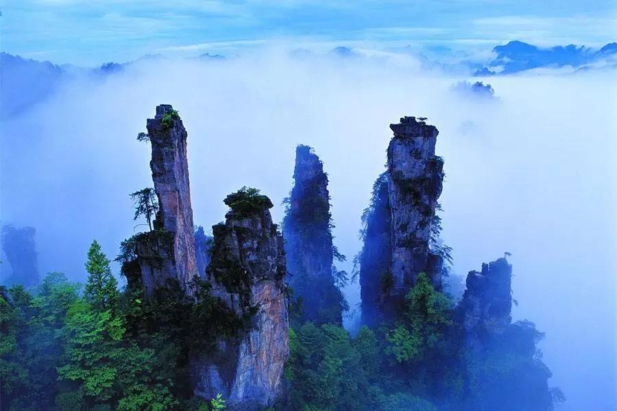 安阳到张家界、森林公园、芙蓉镇、凤凰古城六日游