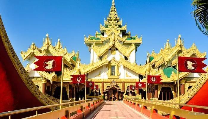 安阳到缅甸仰光、蒲甘、曼德勒六日游